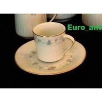 Tazas De Café Con Plato, Pocillos, Porcelana Tsuji X Unidad