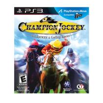 Champion Jockey | Carreras De Caballos | Ps3 Digital Oferta
