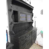 Juegos De Muebles Frailero Negro Comedor Y Dormitorio