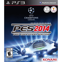 Pes 2014 Ps3 Digital Store Español -gorosoft-