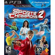 Sports Champions 2 Move Ps3 Incluye Golf Dlc Nuevo