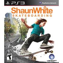 Ps3 Skate Shaun White Nuevo Sellado- Garantía- Local 23hs.