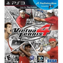 Virtua Tennis 4 // Nuevo Y Sellado Para Ps3