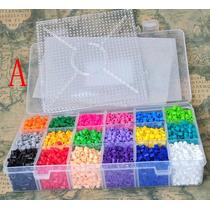 Combo!!10 Bolsas Hama Beads Colores Surtidos Base Y6 Modelos