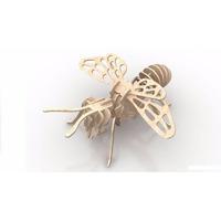 Rompecabeza Didactico 3d Insectos Abeja