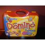 Domino Mega De Asociacion 28 Fichas Plasticas+ Valija