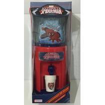 Dispenser De Agua Spider Man Luz Y Sonido Xml Vsp03237