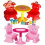Juego De Mesa Y 2 Sillas Infantiles Picnic Table Bebe Rondi