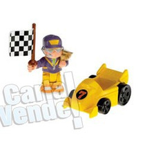 Fisher Price Little People Drew Y Su Coche De Carreras