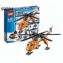 Juego Ingenio Lego City Artic Helicrane 60034