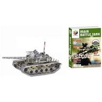 Puzzle 3d. Tanque De Guerra