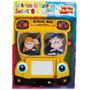 Bus Escolar Con Laptop Infantil Y Pizarra Kydos