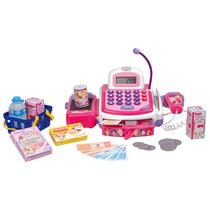 Caja Registradora Princesas Con Microfono Y Accesorios
