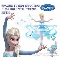 Muñeca Frozen Vuela Con Luz Y Musica