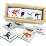 Juego De Memoria 30 Piezas Dinosaurios