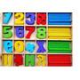 Caja Didáctica Números Y Signos Matematicos De Madera