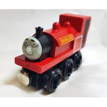 Locomotora Tren Skarloey Madera Iman Thomas&friends