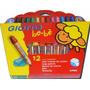 Educando Lapices De Colores Giotto Bebe X12 Unidades 466500
