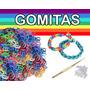 Paquete X2400 Banditas Gomitas + Aguja + Ganchitos