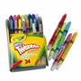 Crayola Crayones Twistables Cuero Plastico Fun Effects Neon