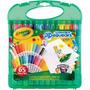 Crayola Pip Squeaks Marcadores Lavables 25 Colores + Papel