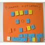 Pizarra + Letras Magneticas - Didactico - Abecedario Imanes