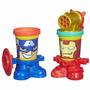 Educando Set Masa Play-doh Canheads Superheroes Arte Hasbro
