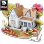 Rompecabeza 3d Puzzle Maqueta Casa Arquitectura