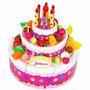 Torta Juliana Original Cumpleaños Felíz Con Luces Y Sonidos