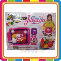 Microondas Juliana Cocinera Con Luz Y Sonido - Mundo Manias