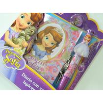 Diario Secreto Intimo Princesita Sofia Barbie Frozen Candado