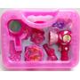 Valija Set De Belleza Para Nenas Secador De Pelo Espejo Y Ac