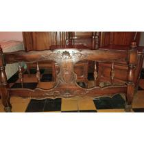 Cama Con 2 Mesas De Luz Frances Estilo Antiguo