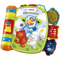 Libro Musical Interactivo Bebe Baby Canciones Vtech