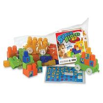 Juegos Didacticos Bolso Con Blocks X 42 Piezas Duravit 550