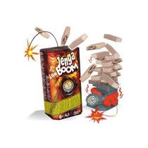 Jenga Boom Explosive Tour Jenga Hasbro Novedad Tv