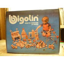 Antiguo Juguete Educativo, Bigotin, Banco Carpintero,madera