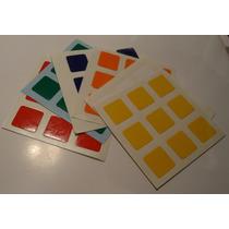 Stikers Rubik 3x3x3