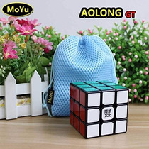 Cubo Moyu Aolong Gt - 3x3x3 - Black - Poroto Cubero