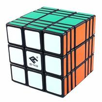 Cubo - C4u Speedcube 3x3x7 - Black - Poroto Cubero