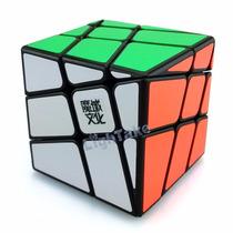 Cubo De Rubik Moyu Yj Crazy Hot Wheel Base Negra 3x3x3