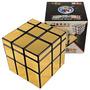 Cubo De Rubik - 3x3x3 Shengshou Mirror Gold (dorado) - 3x3