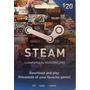 Tarjeta Prepaga Steam Wallet $20 - Juegos Para Pc Mac Linux