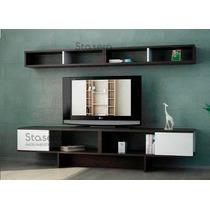 Modular Lcd Rack Panel Tv Moderno Living Mesa Led