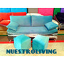 Sillon Milano Placa Soft Patas De Metal