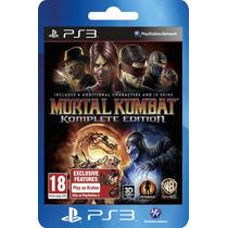 Ps3 Digital Store Mortal Kombat Komplete Edition