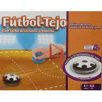 Juego De Mesa Tejo Futbol A Bateria Envio Interior