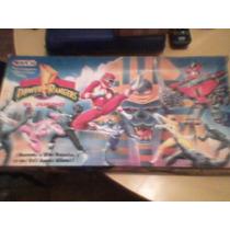 Juego De Mesa Antiguo Power Rangers
