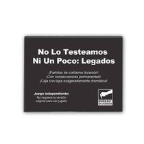 No Lo Testeamos Ni Un Poco: Legados - Juego Cartas Secuela