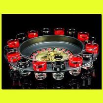 Ruleta Juego Drinking Roulette Set 16 Vasos Shots
